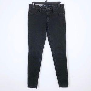 Mossimo Black Mid-Rise Denim Leggings Size 4